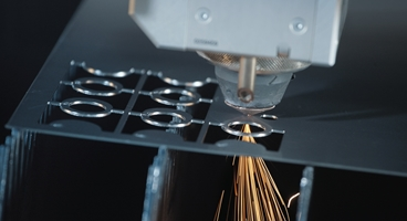 laser cutting of stainless steel with nitrogen.